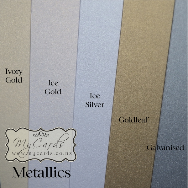Diydo it yourself mycards wedding invitations whitegoldicegoldicesilvergoldleargalvanisedmetalliccardmycardsnz solutioingenieria Choice Image