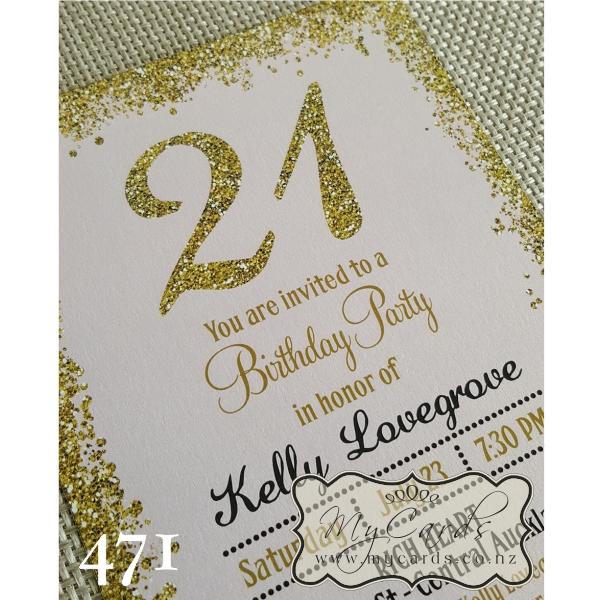 21St Birthday Invitation Cards Katinabags – 21st Birthday Invitation Card