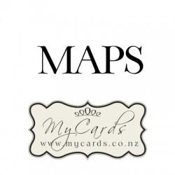Map For Wedding Invitation Auckland Nz Mycards