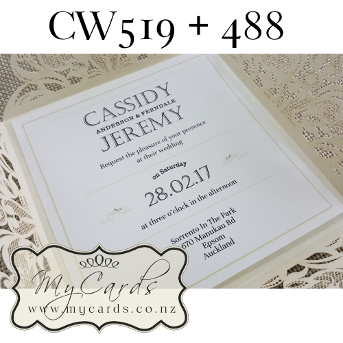 Square Wedding Invitations could be nice ideas for your invitation template