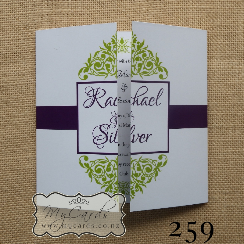 purple and green wedding invitations - Picture Ideas References