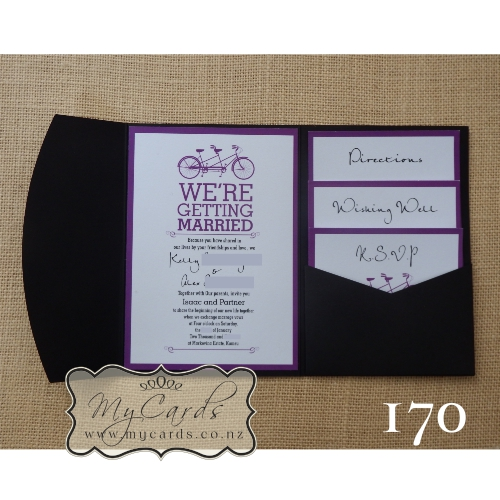 Home Invitations Pocketfold With Inserts