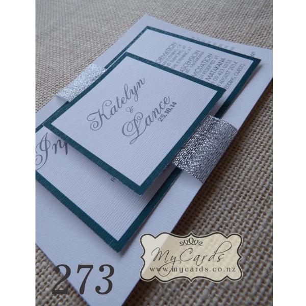 a6 layered wedding invitation design 273 mycards
