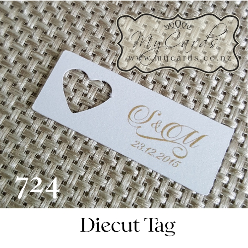 Wedding Gifts Auckland: Heart Gift Tags Wedding Invitations