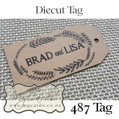 Wedding Gifts Auckland: Kraft Gift Tags Wedding Invitations