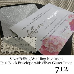 silver-foil-wedding-invitation-peonie-with-black-envelope-silver-glitter-liner-mycards-nz-auckland-712