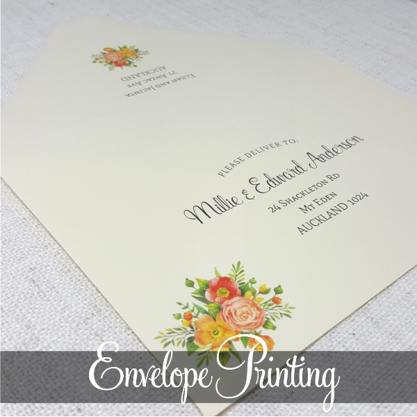 Printing Wedding Invitation Envelopes At Home: MyCards Wedding Invitations