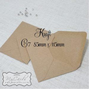 C7 Envelopes 85mm x 115mm