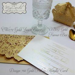 Foiled Invitations