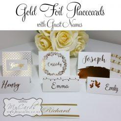 Foil Placecards
