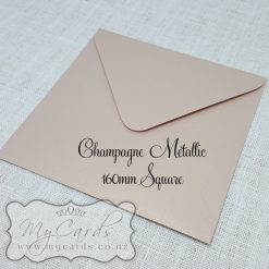 160mm Square Envelopes