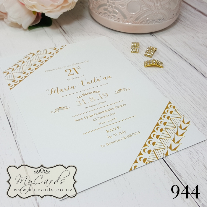 Wedding Gifts Auckland: Pacific Island Birthday Invitations